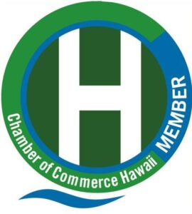 Chamber of Commerce Hawaii Member Logo